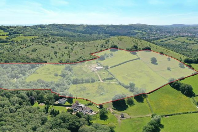 Thumbnail Land for sale in For Sale: Land & Buildings, Derwen Farm, Rudry, Caerphilly