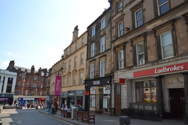 Thumbnail Flat to rent in King Street, Stirling, Stirlingshire