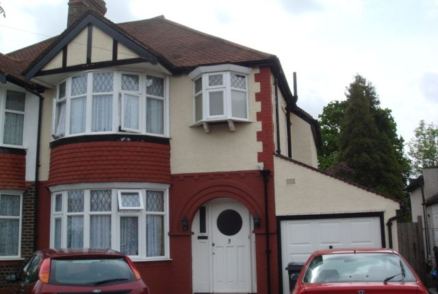 Thumbnail Semi-detached house to rent in Forest Side, Worcester Park