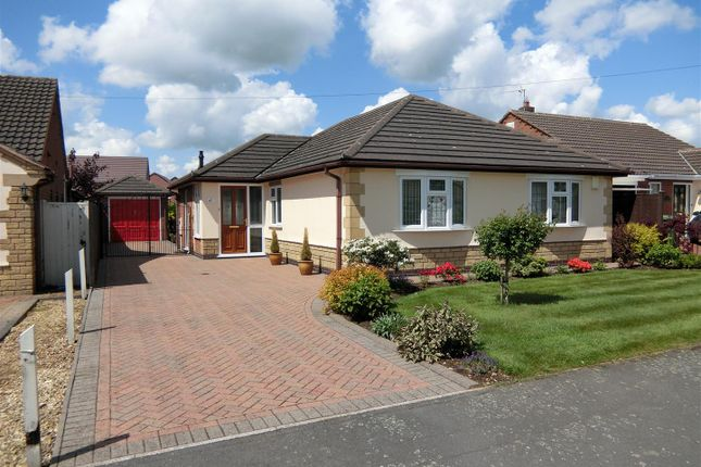Thumbnail Detached bungalow for sale in Parkdale, Ibstock, Leicestershire