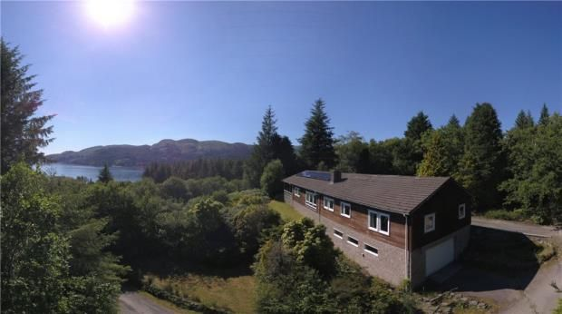 Thumbnail Detached bungalow to rent in Cnoc Dubh, Colintraive, Argyll And Bute