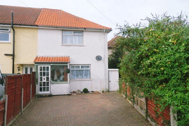 Thumbnail End terrace house for sale in Rosebank, Dovercourt