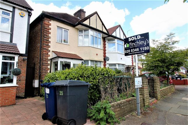 3 bed semi-detached house for sale in Wentworth Avenue, West Finchley N3