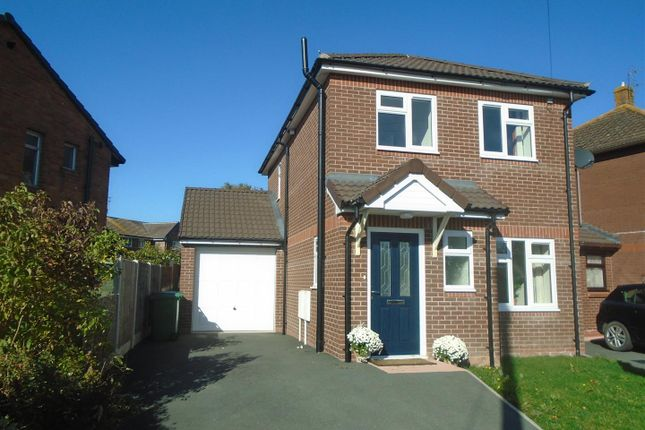 Thumbnail Detached house for sale in Corndon Crescent, Shrewsbury