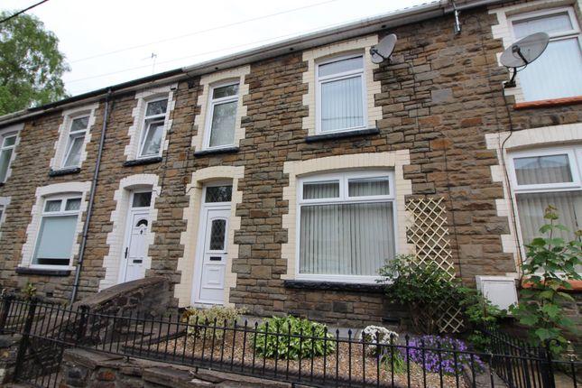 Thumbnail Terraced house for sale in Sir Ivors Road, Pontllanfraith, Blackwood