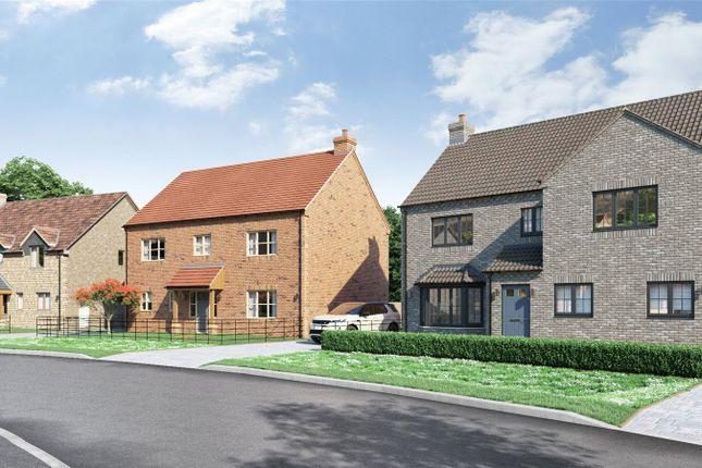 Thumbnail Detached house for sale in Plot 4, 7 Crickets Drive, Nettleham
