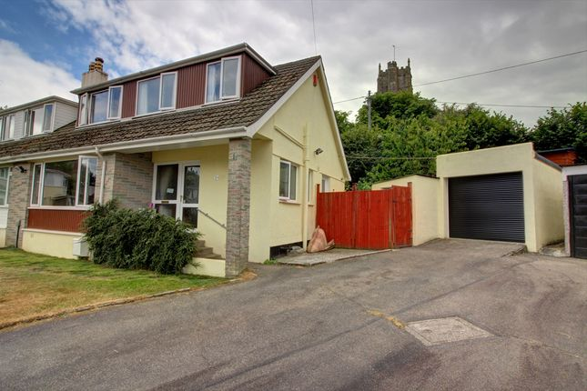 Thumbnail Semi-detached house for sale in Churchtown Vale, Saltash