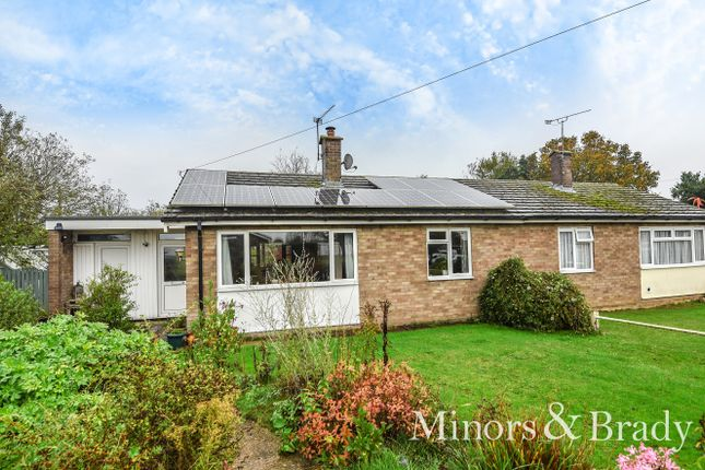 Thumbnail Semi-detached bungalow for sale in St. Marys Close, South Walsham, Norwich