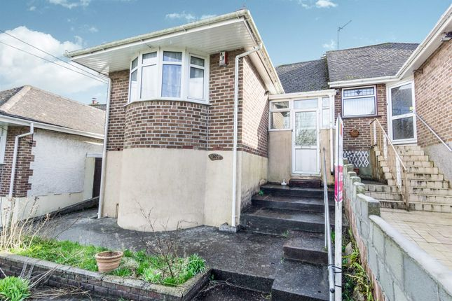 Thumbnail Semi-detached bungalow for sale in Budshead Road, Crownhill, Plymouth
