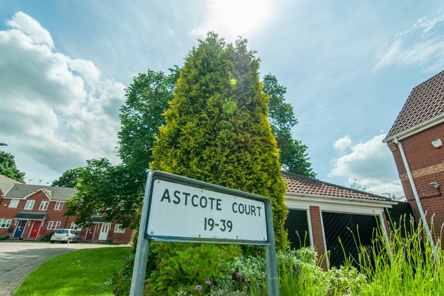 Street Sign of Astcote Court, Kirk Sandall, Doncaster DN3