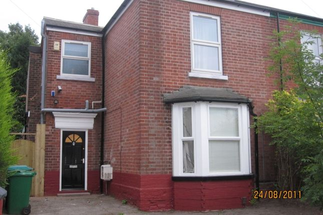 Thumbnail Semi-detached house to rent in Lamartine Street, Nottingham