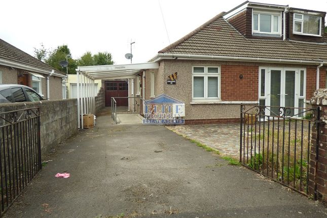 3 bed semi-detached bungalow for sale in Felindre Avenue, Pencoed, Bridgend. CF35
