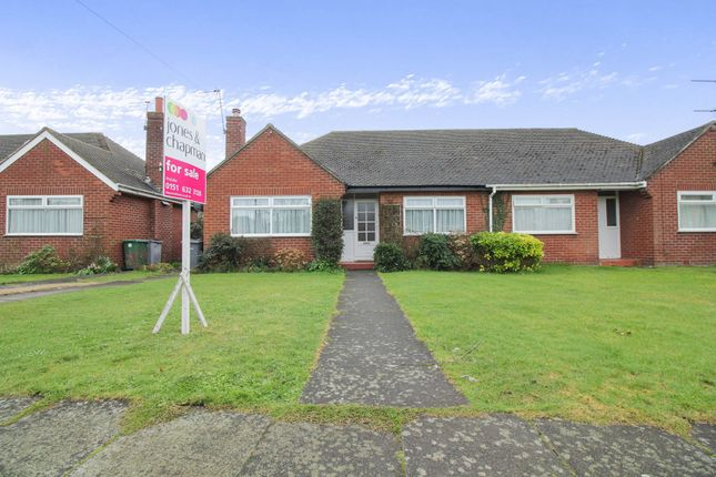 2 bed semi-detached bungalow for sale in Sandringham Close, Hoylake, Wirral