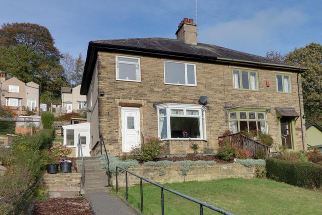 Thumbnail Semi-detached house for sale in Rochdale Road, Triangle, Sowerby Bridge