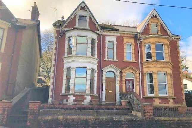 Thumbnail Semi-detached house for sale in Salisbury Road, Maesteg, Bridgend.