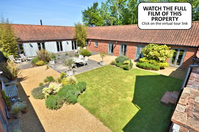 Thumbnail Barn conversion for sale in Creake Road, Syderstone, King's Lynn