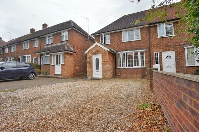Thumbnail End terrace house for sale in Hampden Road, Hitchin
