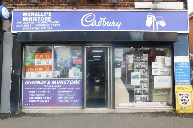 Thumbnail Retail premises for sale in Moston Lane East, Failsworth, Manchester