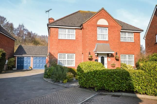 Thumbnail Detached house for sale in Waltham Close, Willesborough, Ashford, Kent
