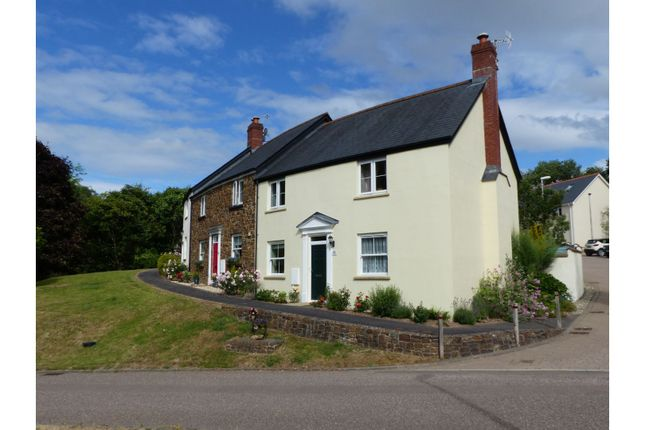Thumbnail End terrace house for sale in Ashleigh Park, Tiverton