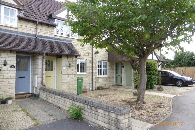 Thumbnail Terraced house to rent in Ashlea Meadow, Bishops Cleeve, Cheltenham