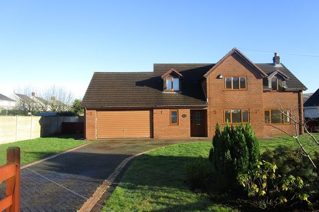 Thumbnail Detached house for sale in Tawe Park, Ystradgynlais, Swansea, City And County Of Swansea.