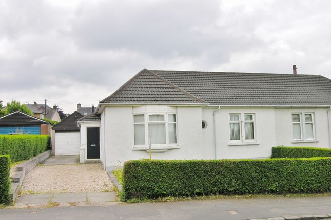 Thumbnail Bungalow for sale in Mossneuk Park, Wishaw