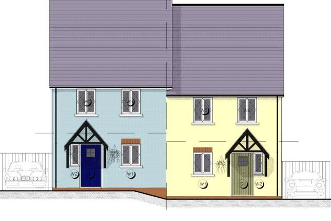 Thumbnail End terrace house for sale in 7 Maes Yr Orsaf (The Cilgerran), Plot 7, Station Road, Narberth