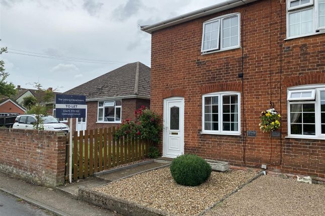 Thumbnail End terrace house to rent in Threadneedle Street, Hadleigh, Ipswich