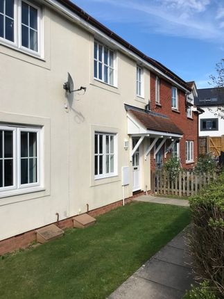 Thumbnail Terraced house to rent in Whiteway Close, Whimple, Exeter