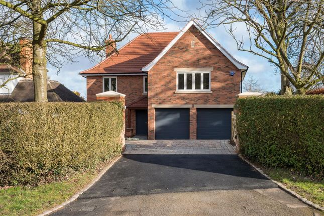 Detached house for sale in Gaddesby Lane, Rearsby, Leicester