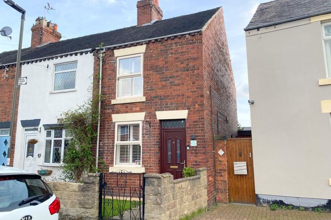 Thumbnail End terrace house for sale in Danesby Rise, Denby, Ripley