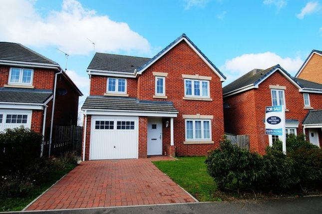 Detached house for sale in Horton Park, Chase Farm Esatate, Blyth