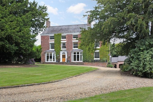 Thumbnail Detached house for sale in Eaton Hill, Eaton, Tarporley