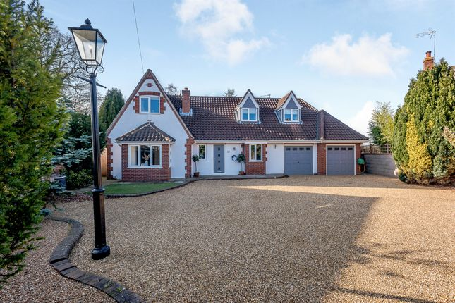 Thumbnail Bungalow for sale in Heath Road, Thorpe End, Norwich