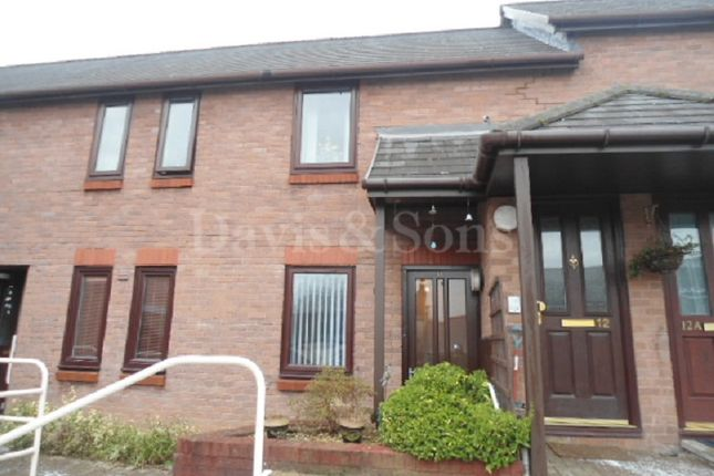 Flat for sale in Aneurin Bevan Court, Pontypool, Monmouthshire.