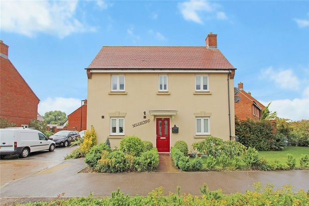 Thumbnail Detached house for sale in Green Lane, Wixams, Bedfordshire