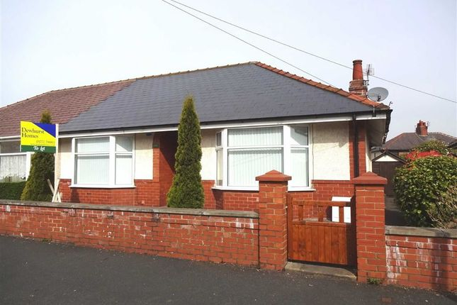 2 bed semi-detached bungalow to rent in Rose Avenue, Ashton-On-Ribble, Preston
