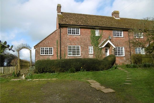 Thumbnail Semi-detached house to rent in Estate Cottages, Mapperton, Beaminster