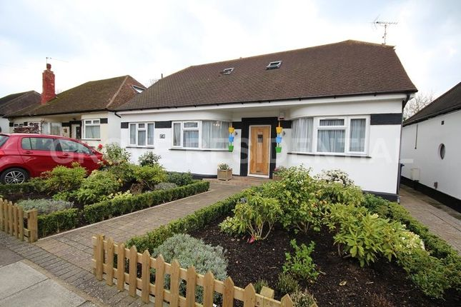 Thumbnail Detached bungalow for sale in Highview Gardens, Edgware, Middlesex.