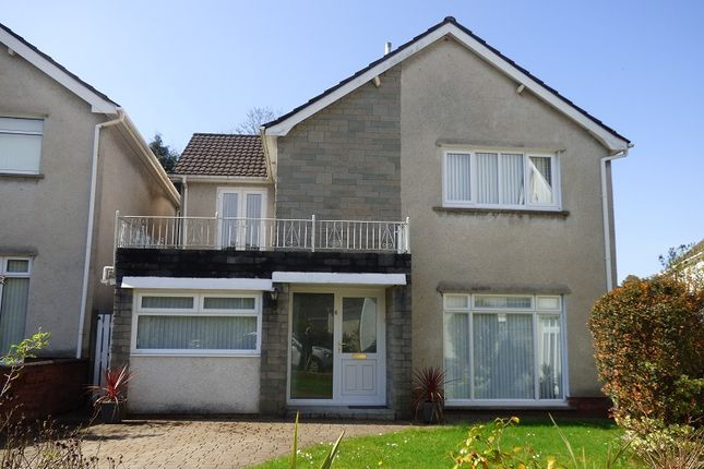 Thumbnail Detached house to rent in Trenewydd Rise, Cimla, Neath, Neath Port Talbot.