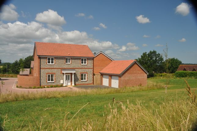 Thumbnail Detached house to rent in Shutewater Orchard, Bishops Hull, Taunton, Somerset