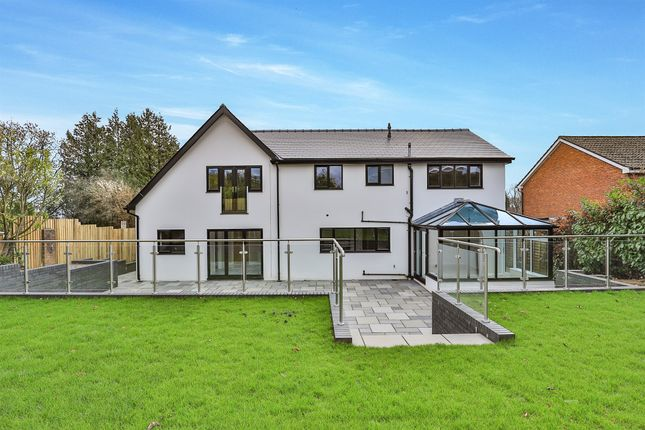 Thumbnail Detached house for sale in Heol Y Delyn, Lisvane, Cardiff