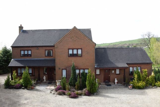 Thumbnail Detached house for sale in Pant-Y-Dwr, Rhayader