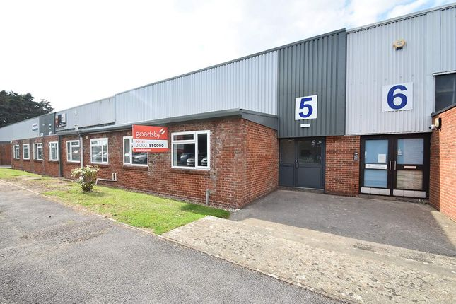 Thumbnail Warehouse to let in Unit 5 Holton Road, Poole