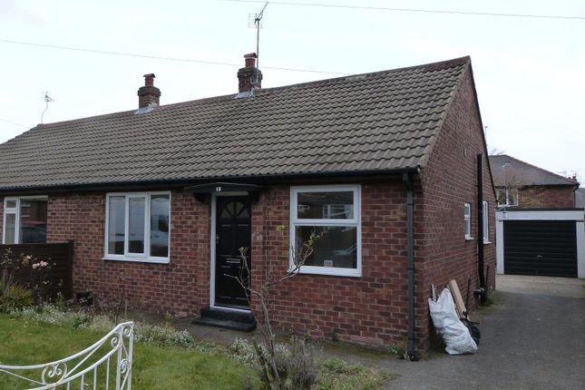 Thumbnail Semi-detached bungalow to rent in St John's Walk, Harrogate