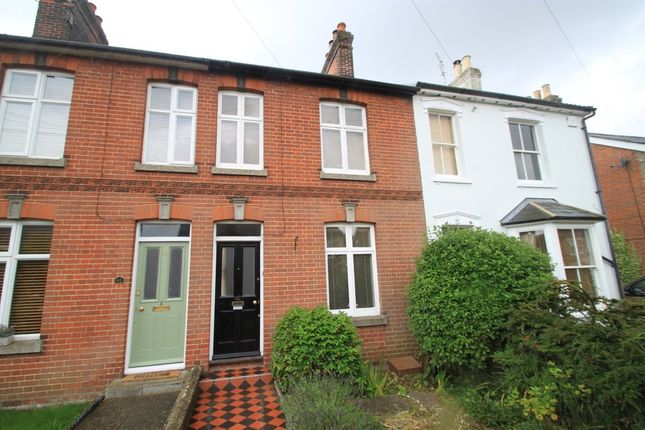 Thumbnail Terraced house for sale in Queens Road, Bury St. Edmunds