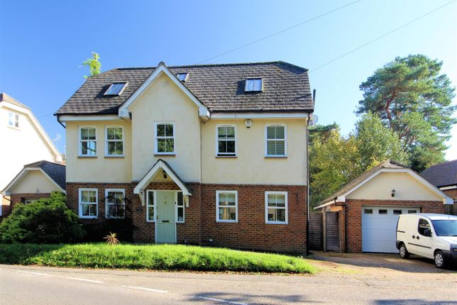 Thumbnail Detached house for sale in Queens Road, Bisley, Woking
