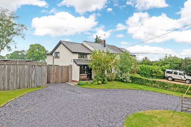 Thumbnail Semi-detached house for sale in Hill Top Road, Acton Bridge, Northwich