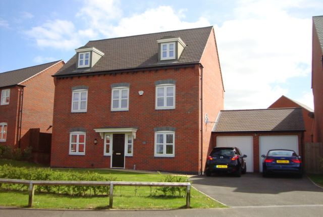 Thumbnail Detached house for sale in Paisley Walk, Church Gresley